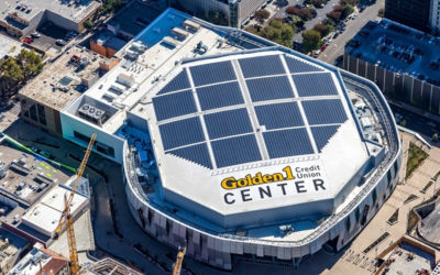 Sacramento Kings Arena Solar Array
