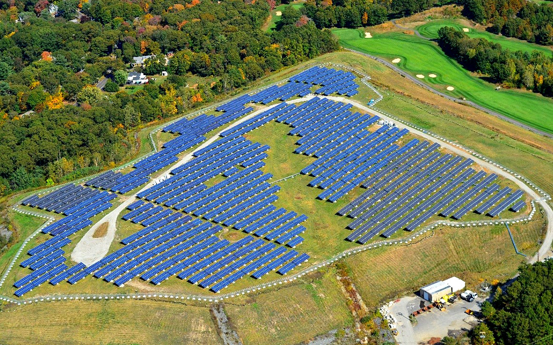 Town of Scituate Landfill Solar Array