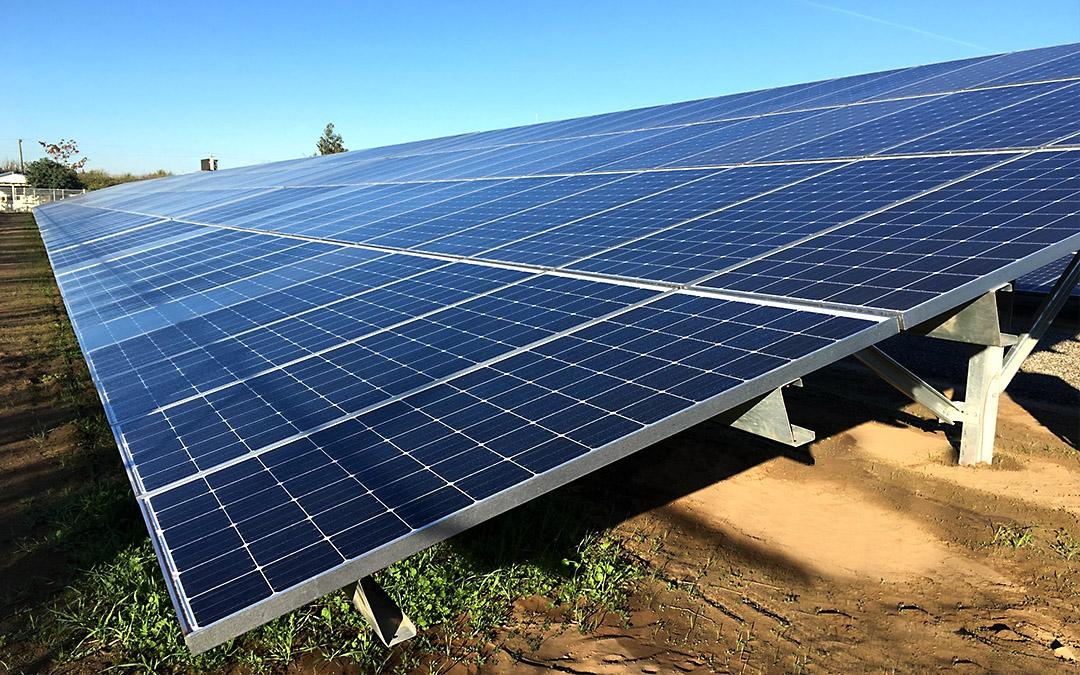 Manteca, California Solar PV Array