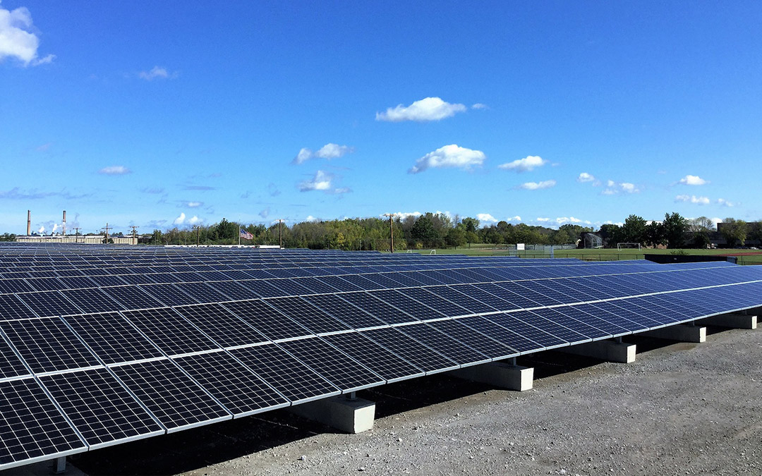 City Of Rochester Solar Pv Array Aes Distributed Energy