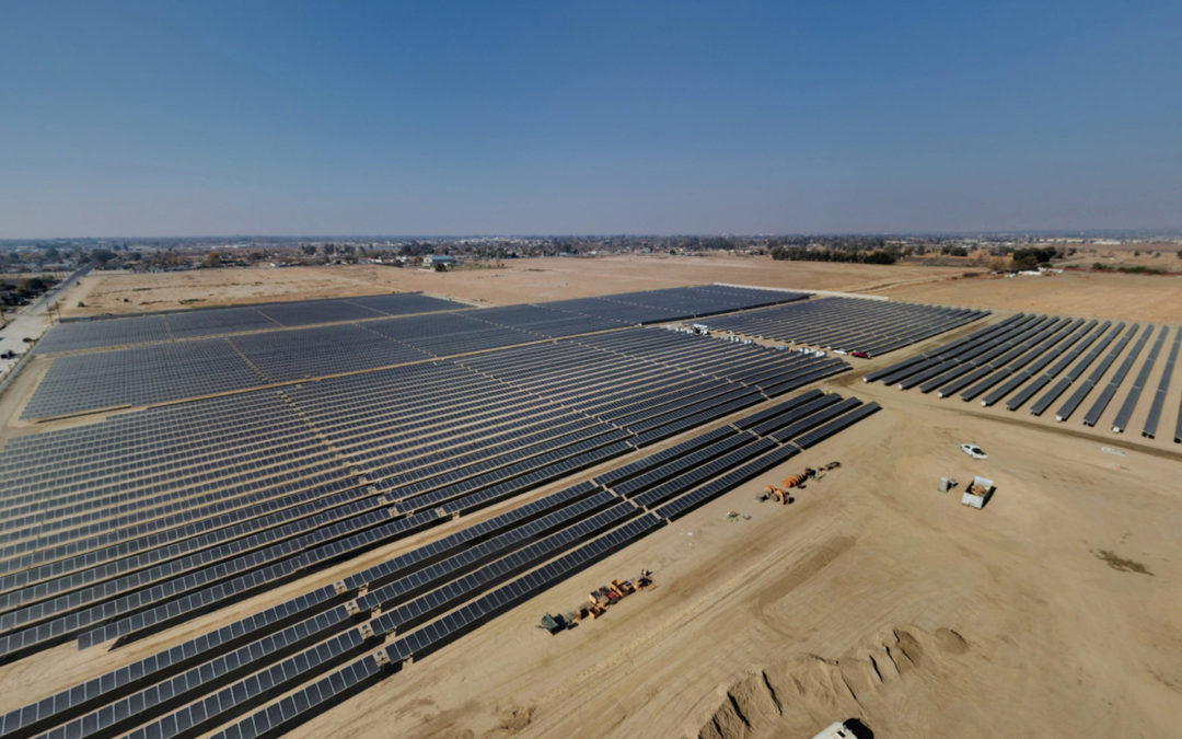 Bakersfield, California Solar PV Array